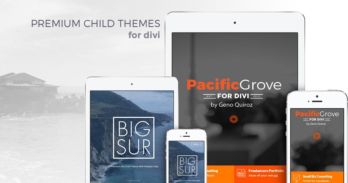 Custom divi child themes monterey premier - Divi child theme ...