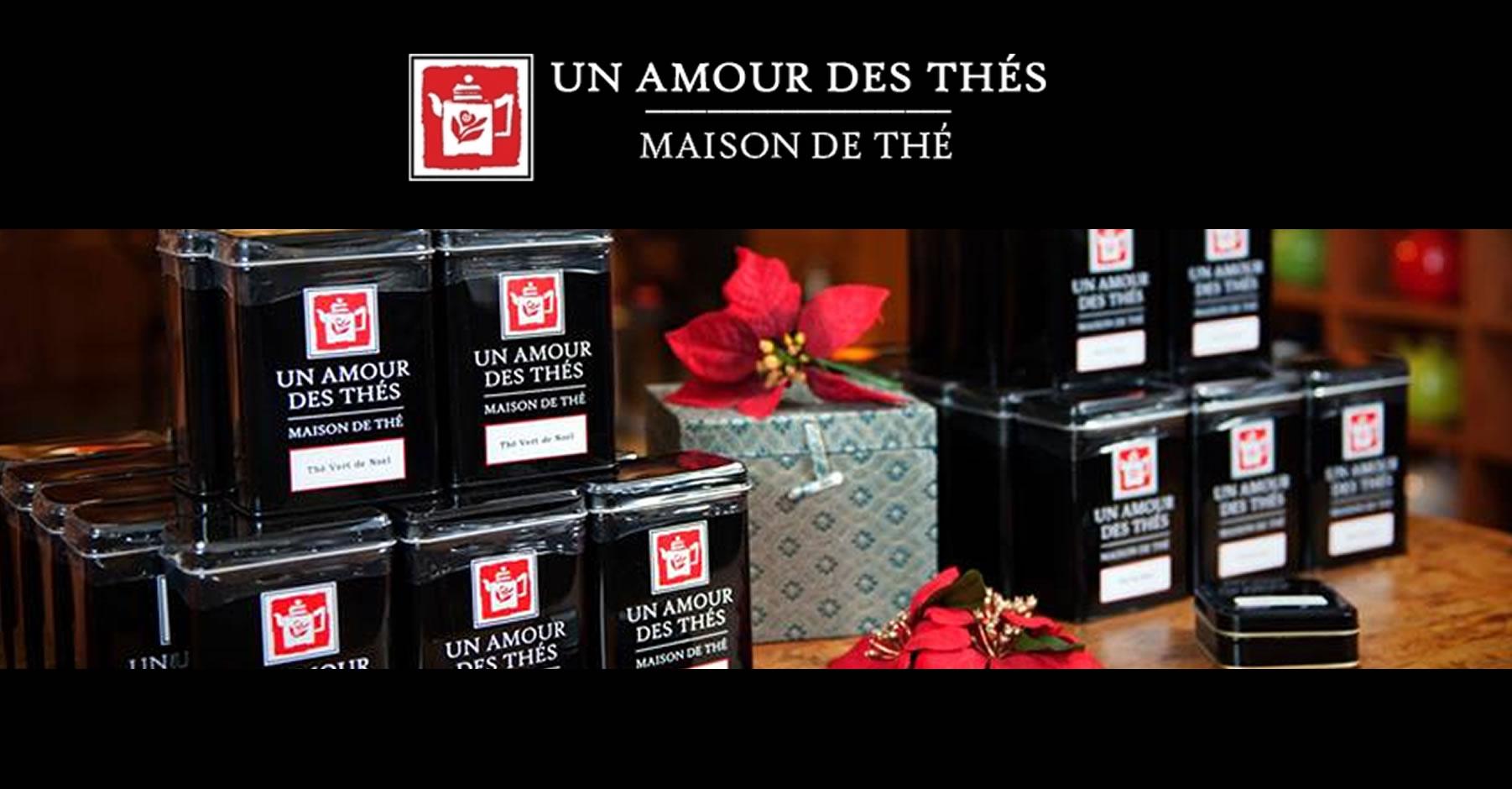 Un Amour des Thés Website Customization