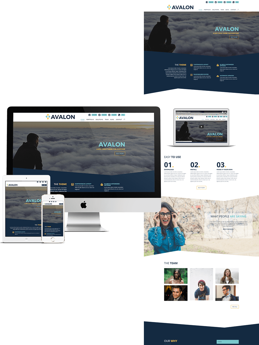 Avalon - Divi Child Theme TEmplate