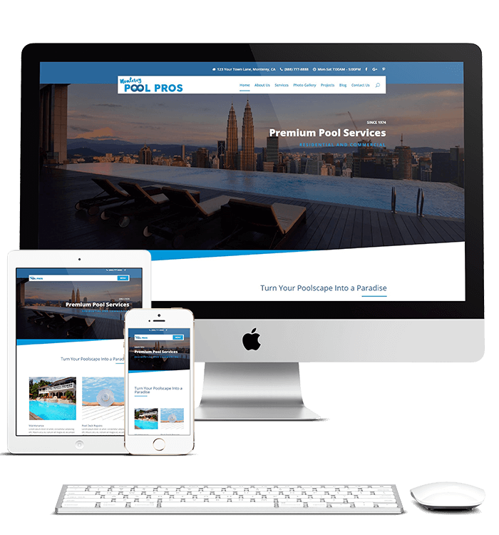 Monterey Pool Pros - Divi Child Theme TEmplate