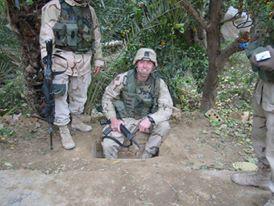 the Saddam hole, 2003