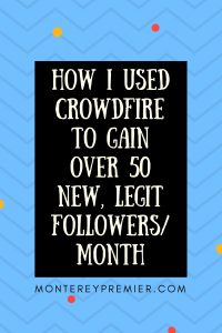 How I Used Crowdfire to gain over 50 new, legit followers/month