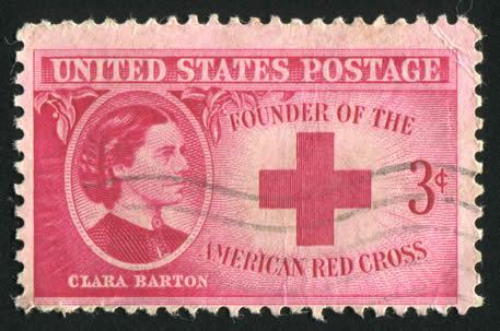 Clara Barton Stamp