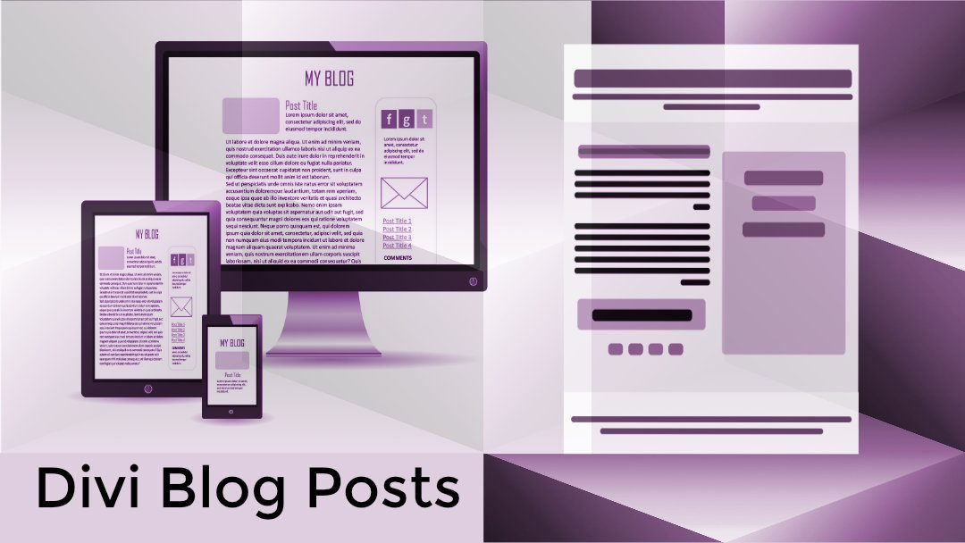 Creating Divi Blog Posts