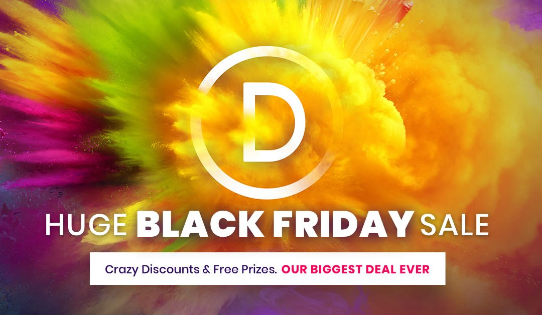 Monterey Premier is Partnering with Elegant Themes for Black Friday 2018