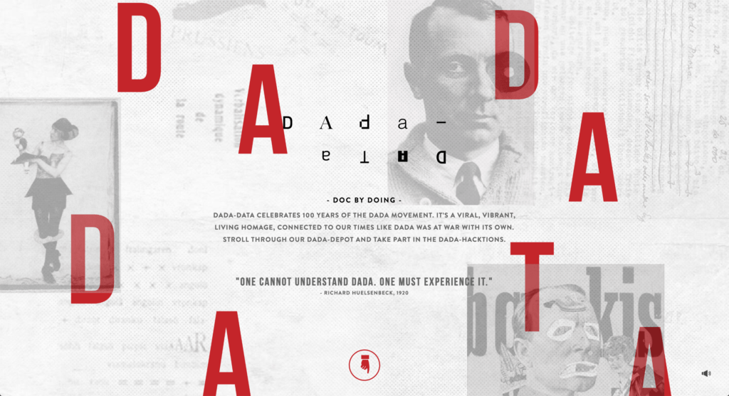 Dada-Data Website Design