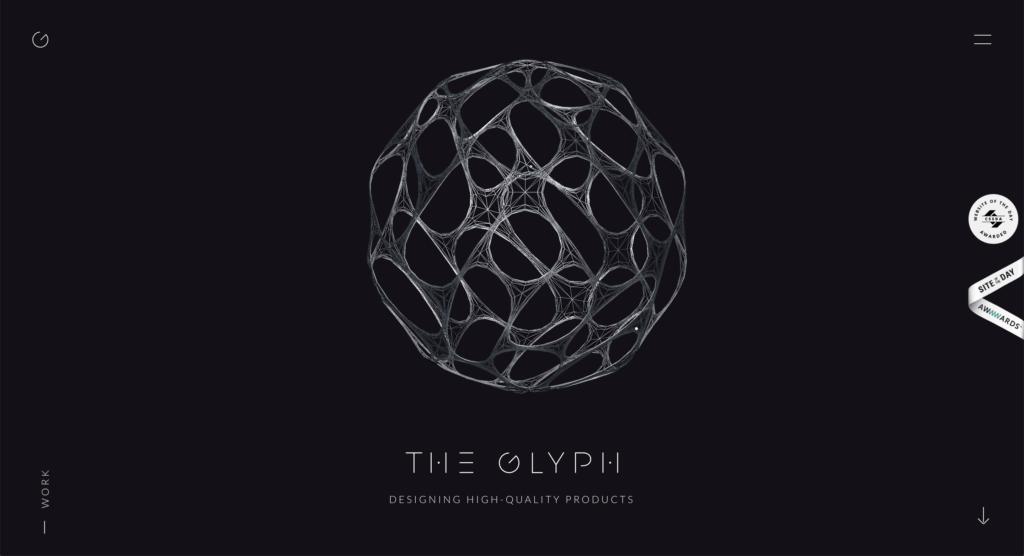 The Glyph Website Design