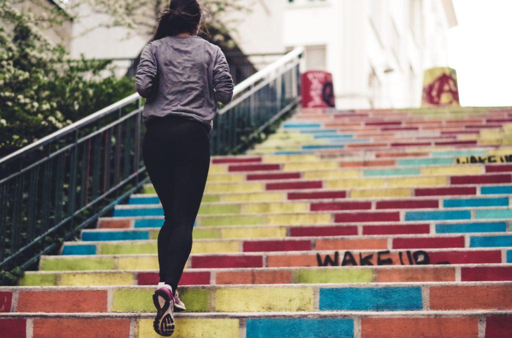 running to detox stress