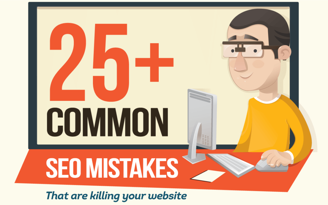 Infographic: Are You Aware of These Common SEO Mistakes?