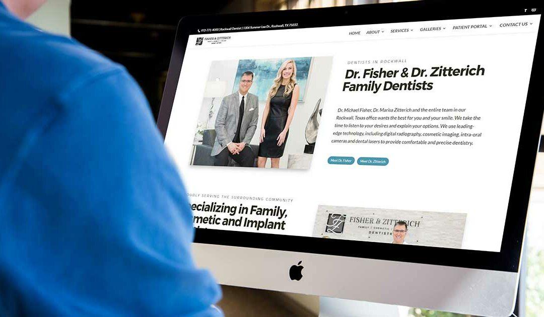 Case Study: F&Z Dentistry Website Redesign 2021